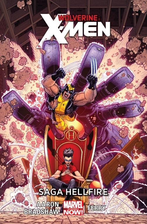 Wolverine and the X-Men Saga Hellfire Tom 3