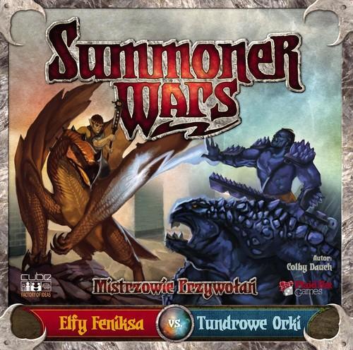 Summoner Wars Elfy Feniksa vs Tundrowe Orki