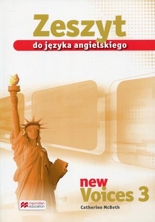 New Voices 3 Zeszyt do języka angielskiego