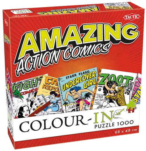 Action Comics Color-In puzzle do kolorowania 1000 elementów