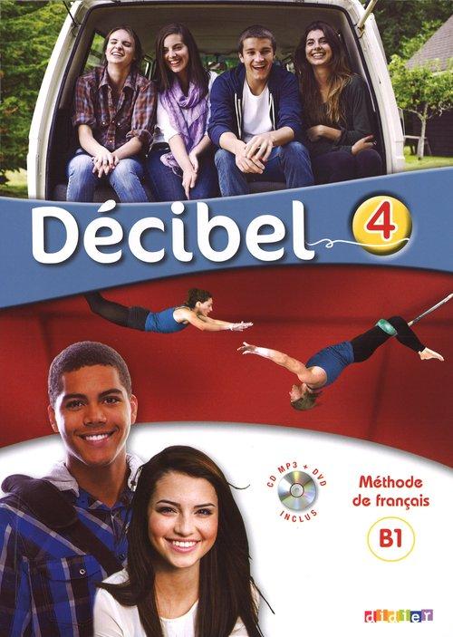 Decibel 4 Podręcznik+CD+DVD