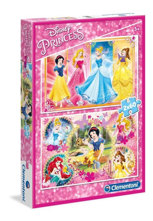 Puzzle Księżniczki 2x60