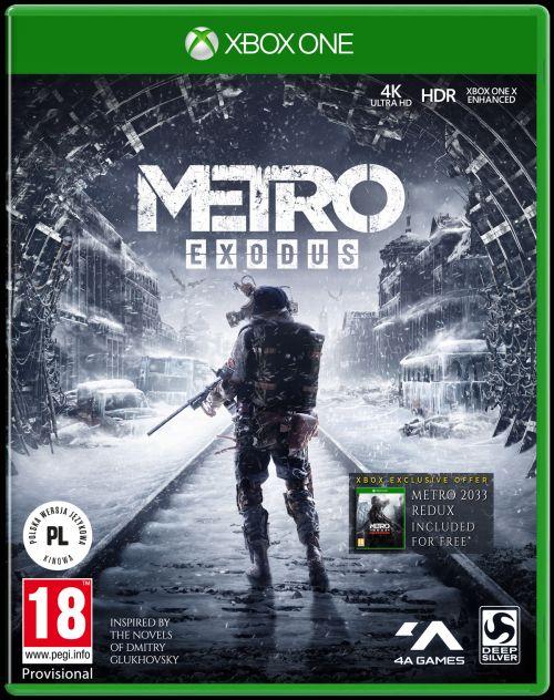 Metro Exodus (XOne) PL + PLAKAT + BONUSY!