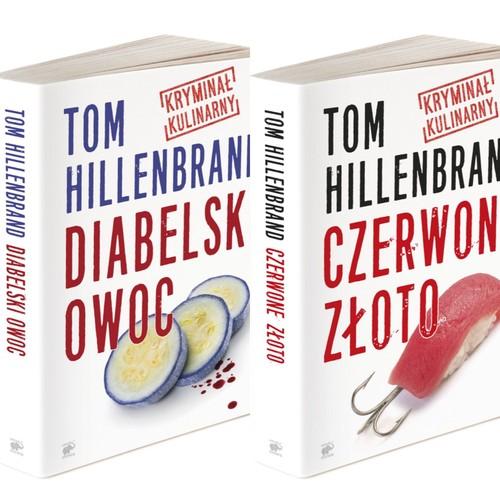 Kryminały kulinarne Toma Hillenbranda Diabelski owoc /Czerwone złoto