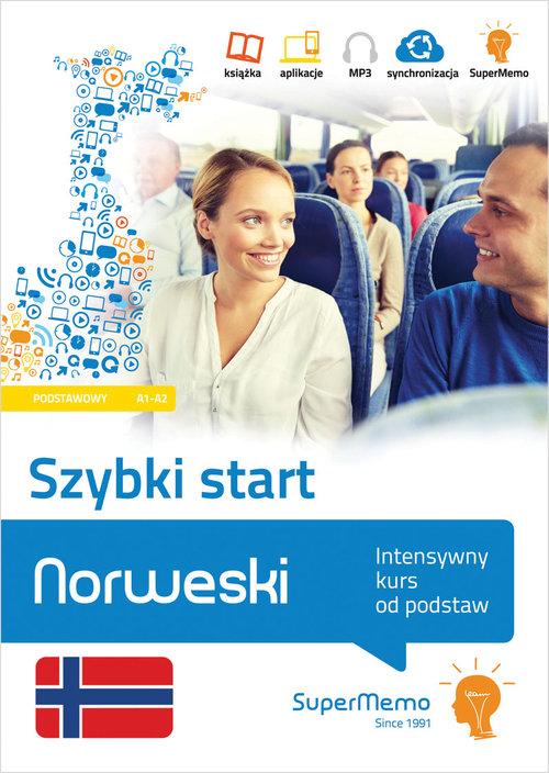 Norweski Szybki start Intensywny kurs od podstaw (poziom podstawowy A1-A2)