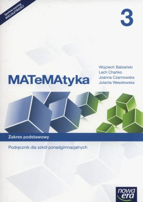 Matematyka 3 Podręcznik Zakres podstawowy