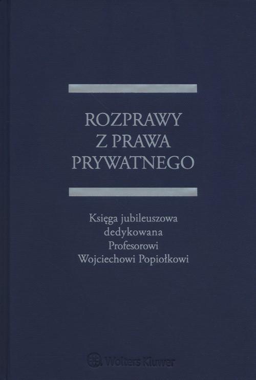 Rozprawy z prawa prywatnego