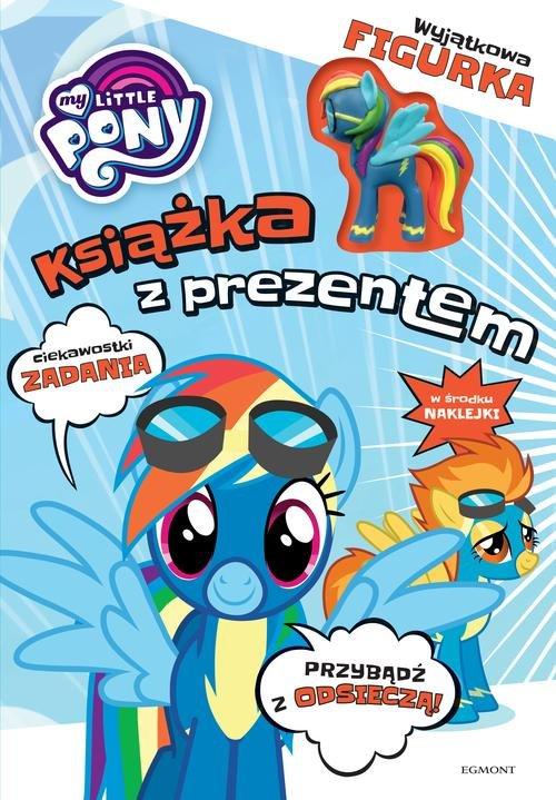 My Little Pony Książka z prezentem Rainbow Dash