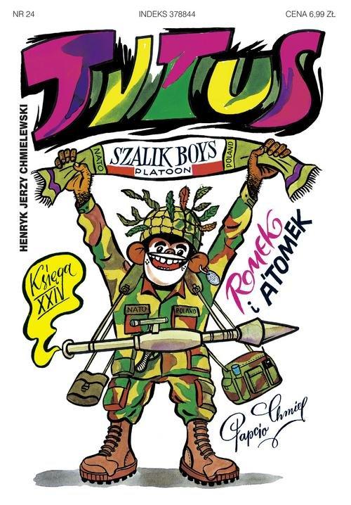 Tytus Romek i A'Tomek Księga XXIV Tytus w NATO