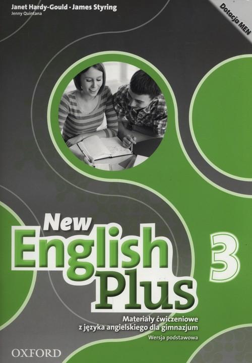 New English Plus 3 Materiały ćwiczeniowe Wersja podstawowa