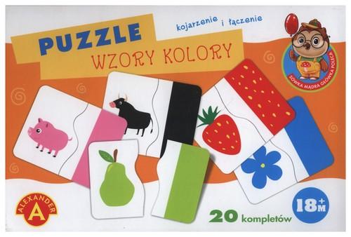 Puzzle wzory kolory