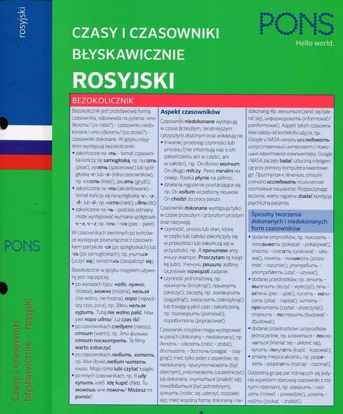 Czasy i czasowniki błyskawicznie MINI rosyjskie