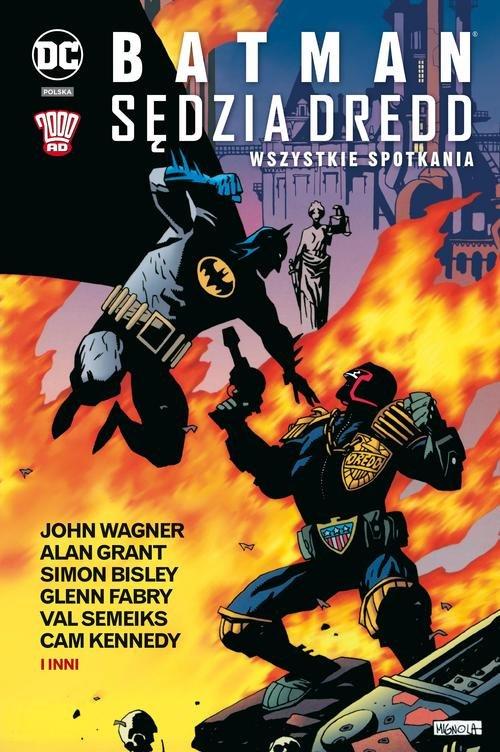 Batman Sędzia Dredd Wszystkie spotkania