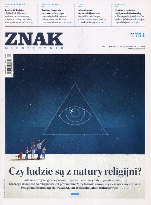 ZNAK 751 12/2017 Czy ludzie są z natury religijni?