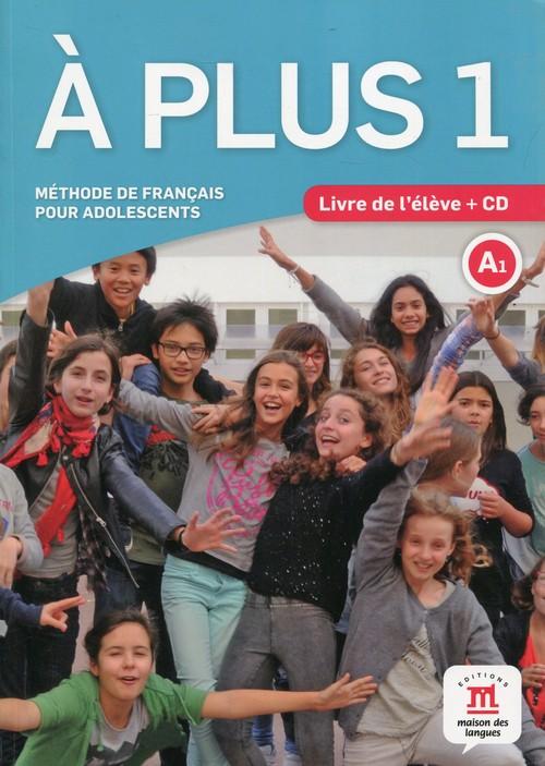 A Plus 1 Podręcznik z płytą CD