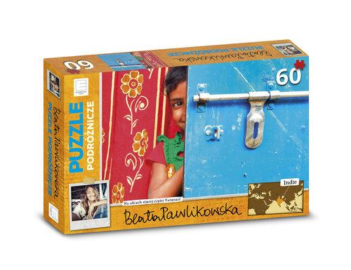 Puzzle podróżnicze Indie