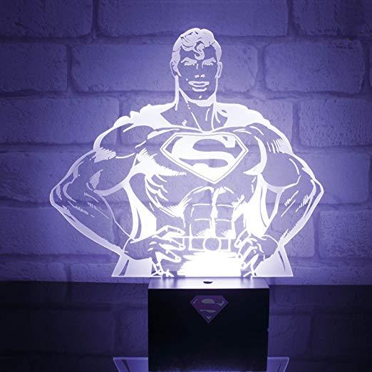 DC Comics Superman Hero lampka