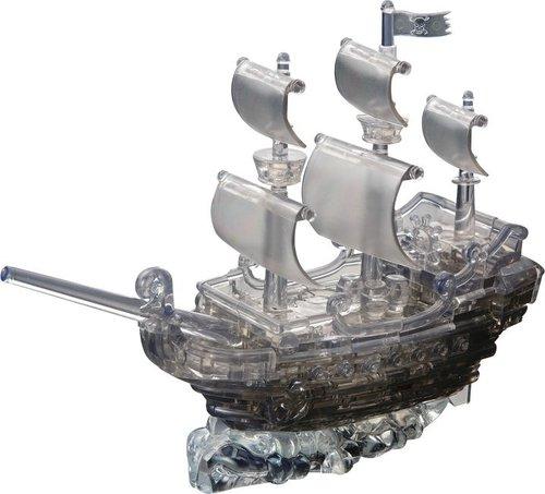 Statek piracki Crystal Puzzle duże