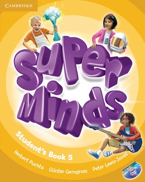 Super Minds 5 Student's Book + DVD