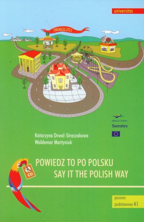 Powiedz to po polsku z płytą CD