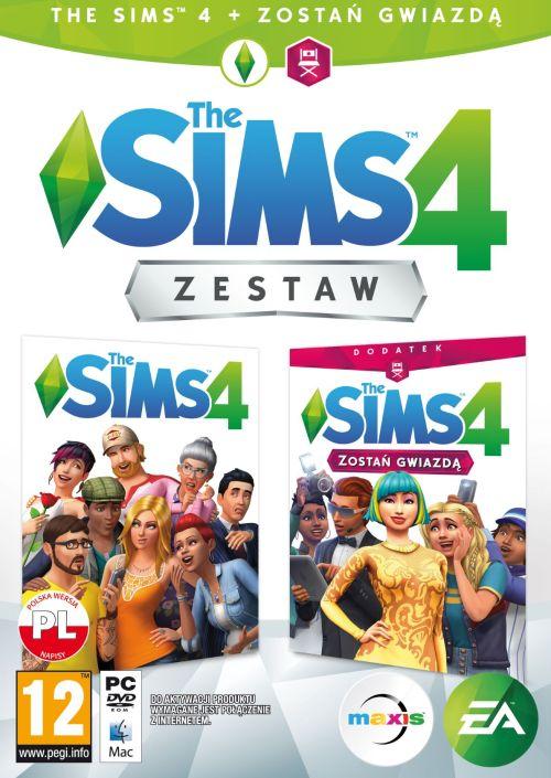 Zestaw The Sims 4 + The Sims 4 Zostań Gwiazdą (PC) PL DIGITAL