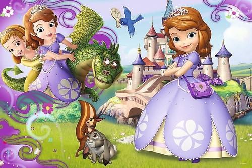 Puzzle 60 Przygody księżniczki Zosi