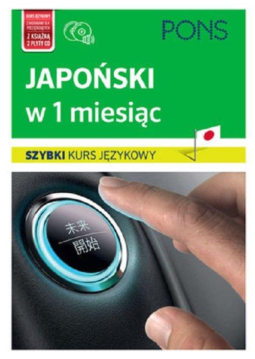 Japoński w 1 miesiąc Szybki Kurs językowy+CD