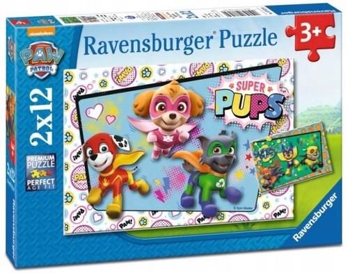 Puzzle 2x12 Paw Patrol
