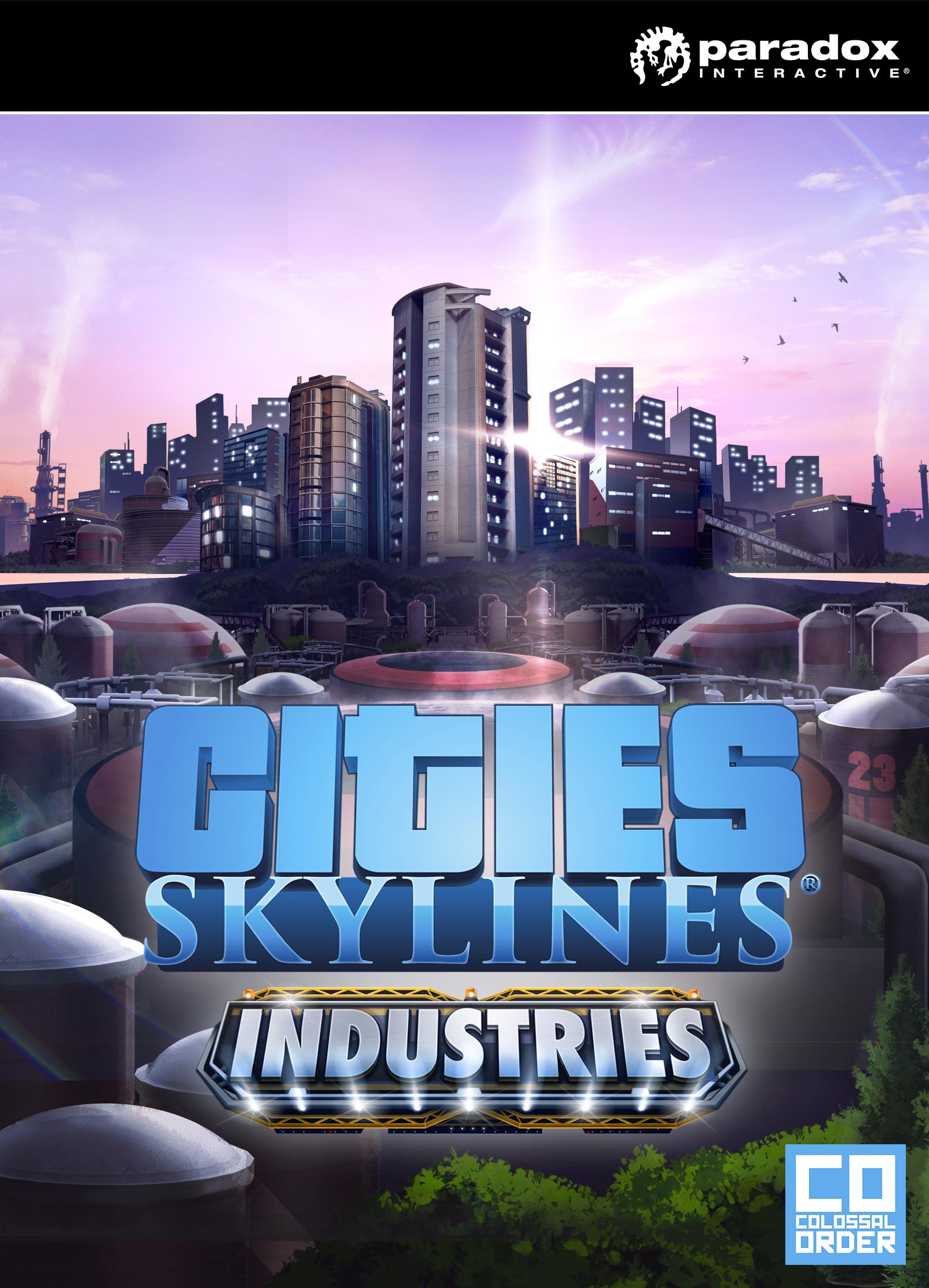 Cities: Skylines - Industries Plus (PC) klucz Steam