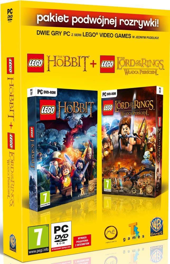 LEGO WŁADCA PIERŚCIENI & LEGO THE HOBBIT (PC) PL