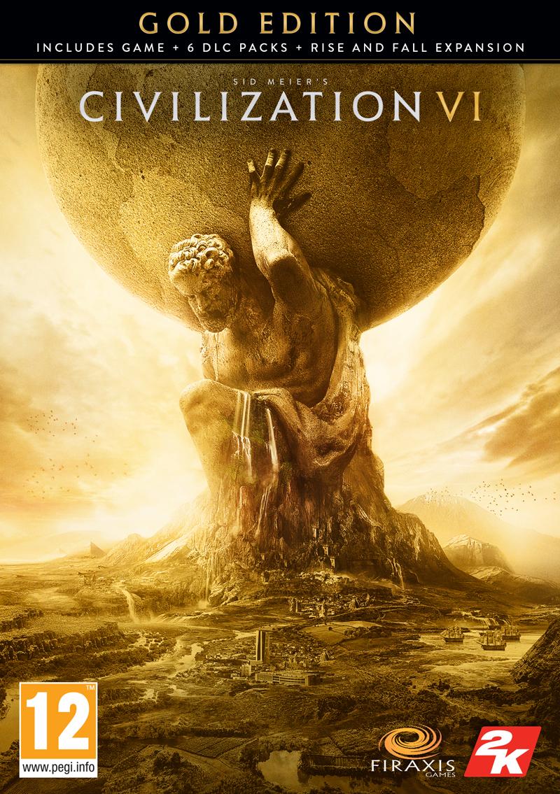 Sid Meier's Civilization VI Gold Edition (PC) PL klucz Steam