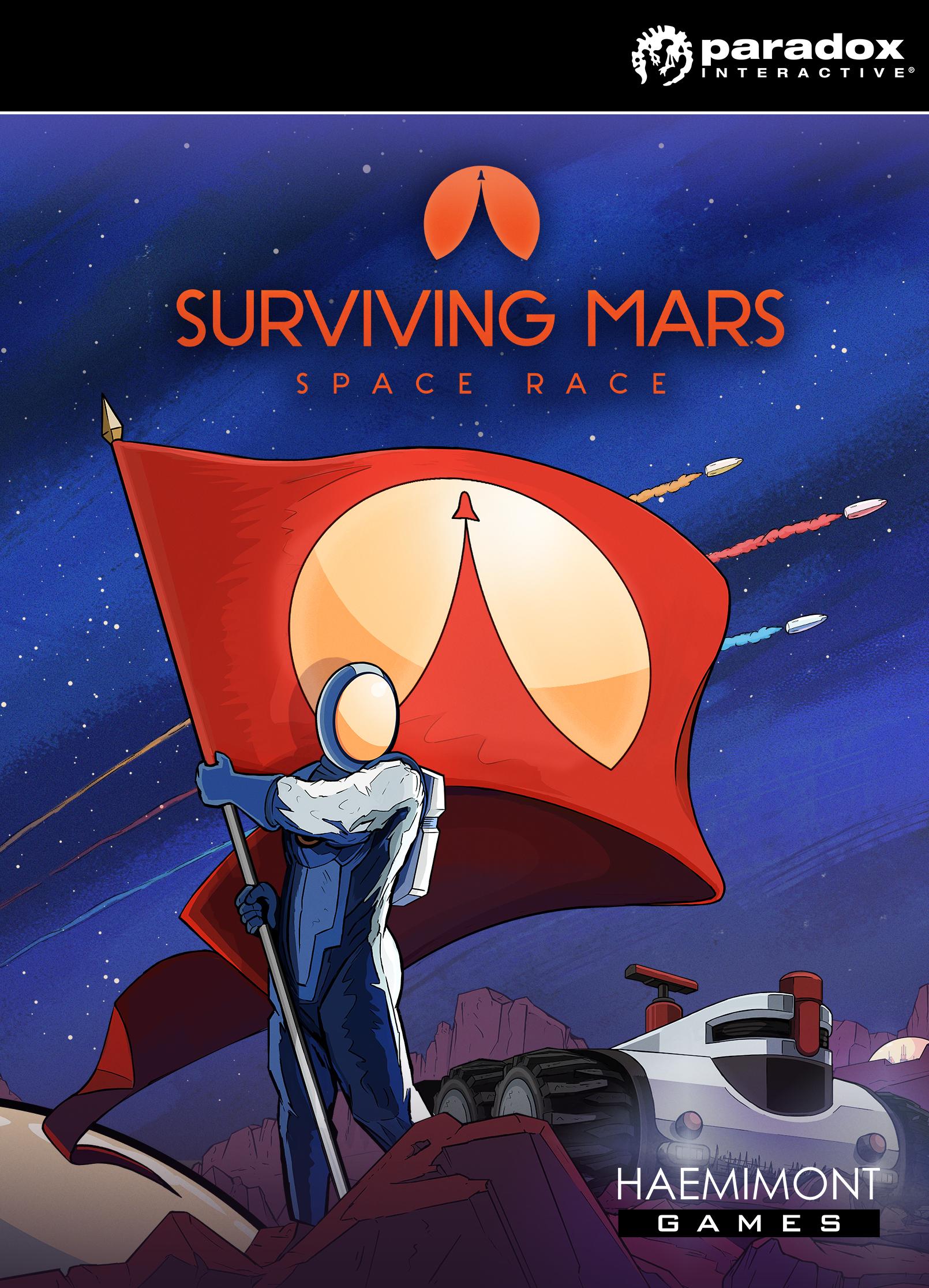 Surviving Mars: Space Race Plus (PC) klucz Steam