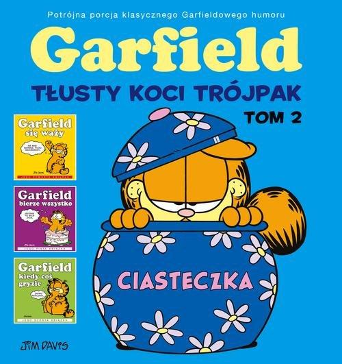 Garfield Tłusty koci trójpak Tom 2
