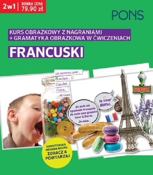 Obrazkowy francuski kurs i gramatyka w ćwiczeniach PAK2