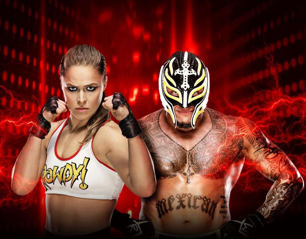 WWE 2K19 - Rey Mysterio & Ronda Rousey (PC) klucz Steam