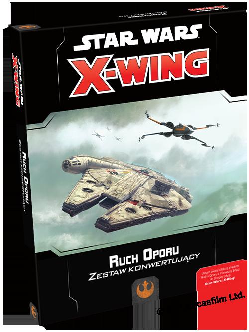 Star Wars: X-Wing - Zestaw konwertujący - Ruch Oporu (Gra Figurkowa)