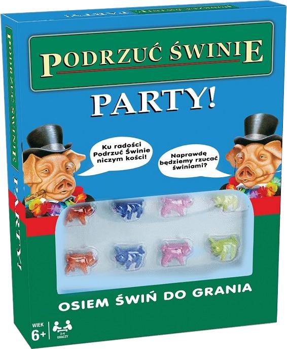 Podrzuć Świnie: Party! (Gra Karciana)
