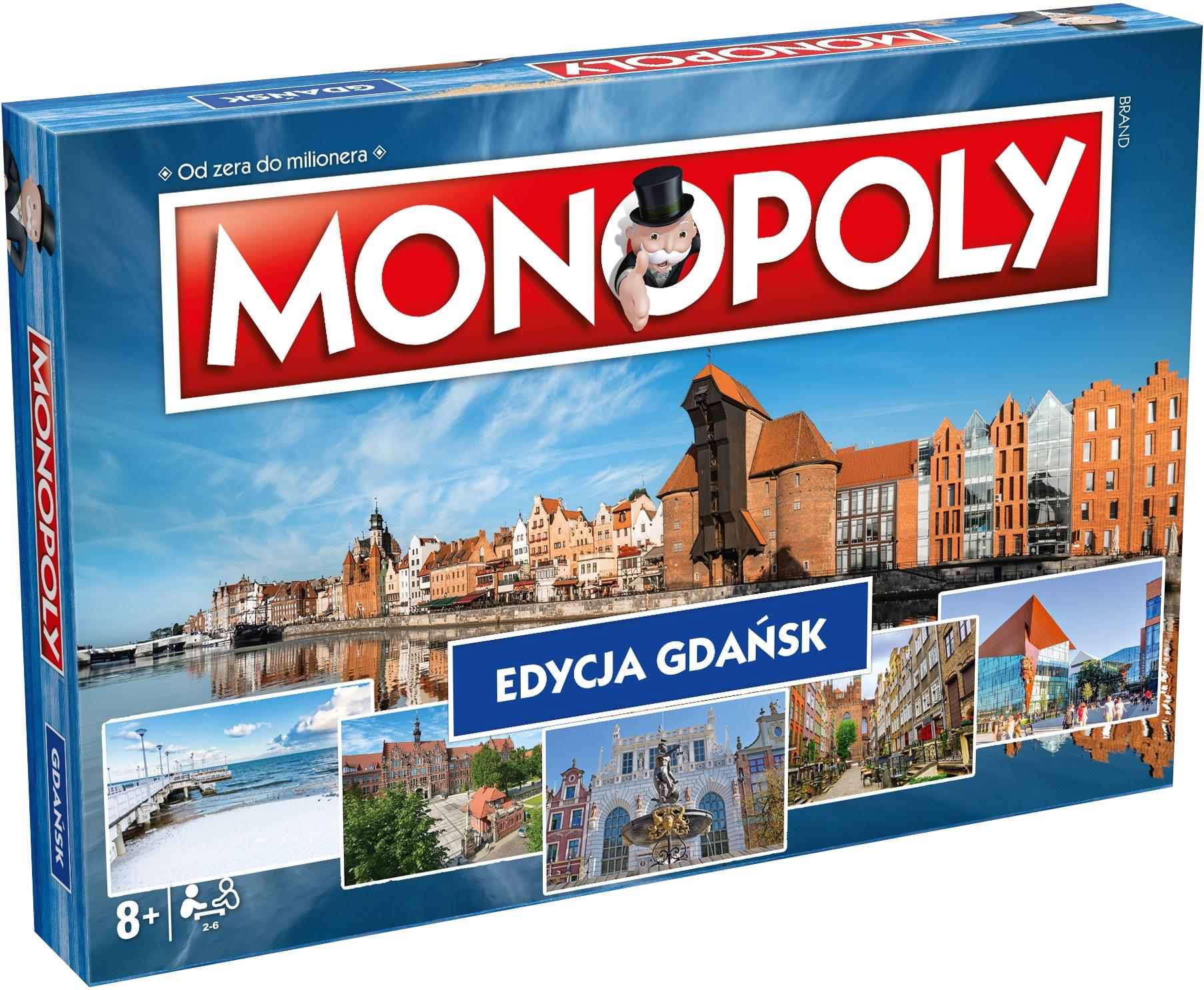 Monopoly: Edycja Gdańsk (Gra Planszowa)