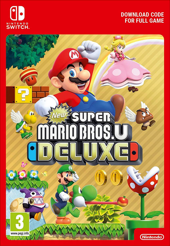 New Super Mario Bros U Deluxe (Switch Digital)