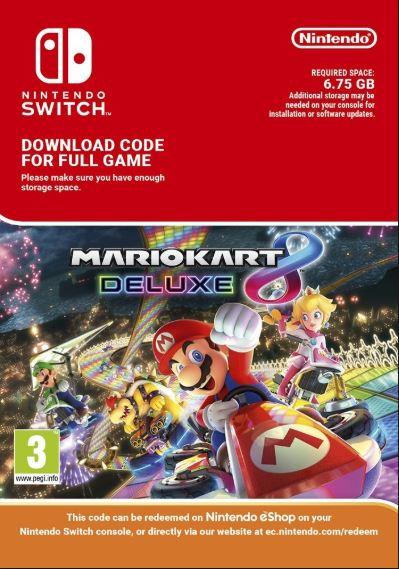 Mario Kart 8 Deluxe (Switch Digital)