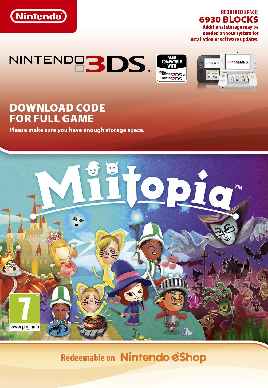 Miitopia (3DS Digital)