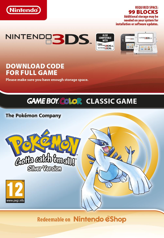 Pokémon Silver DCC (3DS DIGITAL)