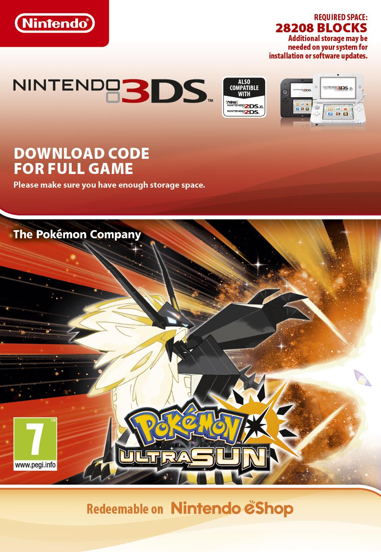 Pokemon Ultra Sun (3DS Digital)