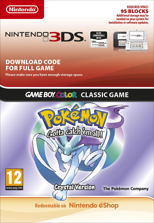 Pokémon Crystal DCC (3DS DIGITAL)