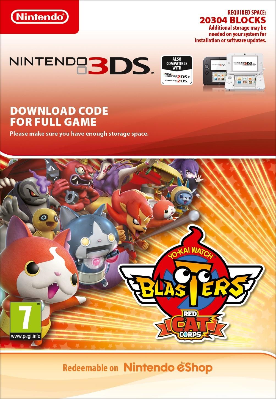 YO-KAI WATCH Blasters Red Cat (3DS DIGITAL)