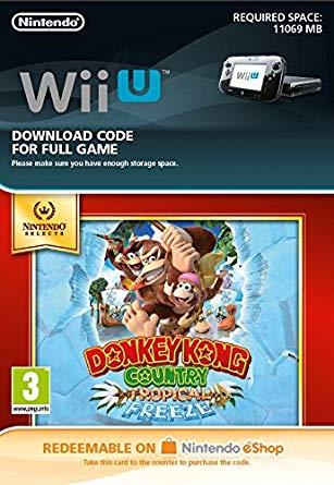 Donkey Kong Country: Tropical Freeze (Wii U DIGITAL)