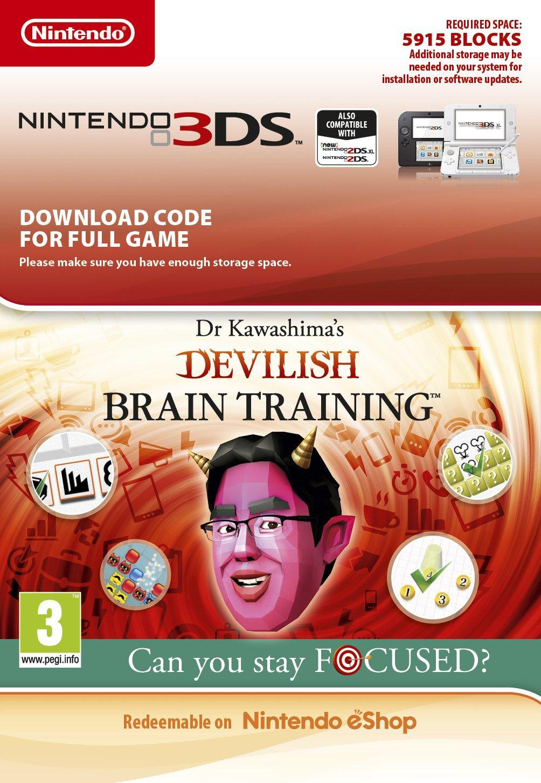 Dr. Kawashima's Devilish Brain Training (3DS DIGITAL)