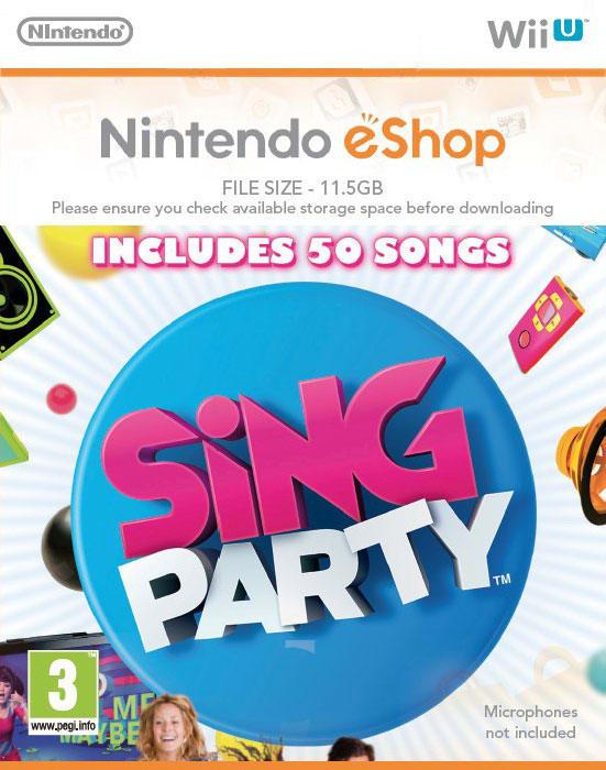 SiNG Party (Wii U DIGITAL)