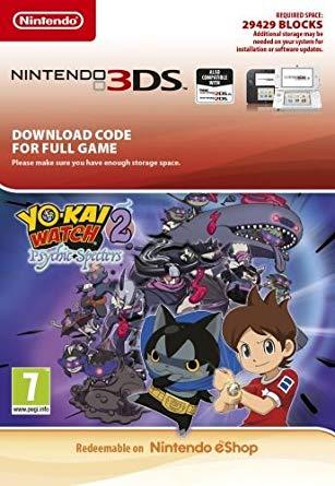 YO-KAI WATCH 2: Psychic Specters (3DS DIGITAL)