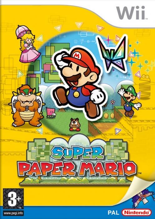 Super Paper Mario (Wii U DIGITAL)